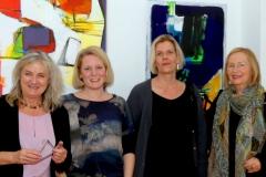 Beate Bach-Flaeschner, Beate Kohmann, Tina Flecken und Christel Spindler