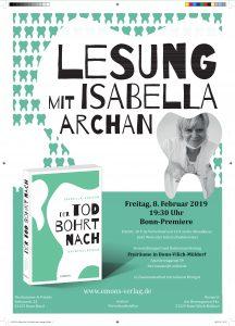 Plakat - Isabella Archan