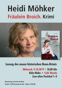 Plakat Heidi Möhker - Fräulein Broich