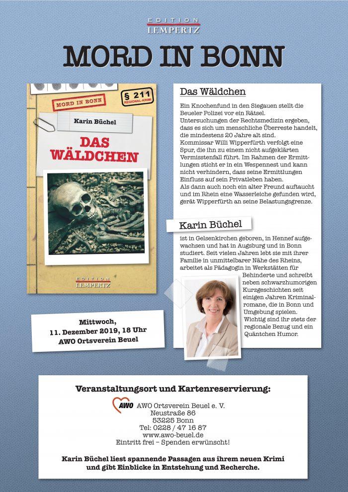 Plakat Karin Büchel - Das Wldchen