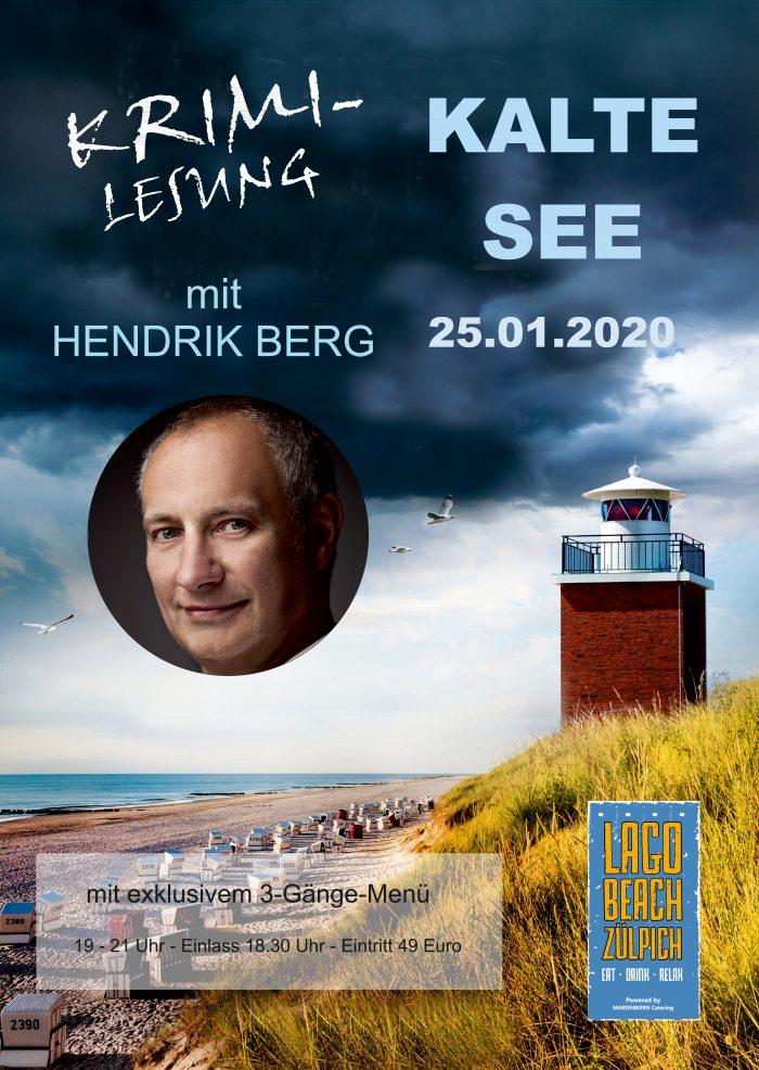 Plakat Hendrik Berg - 25.01.2020