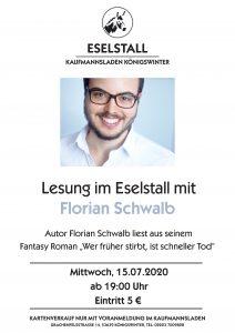 Florian Schwalb - Wer früher stirbt, ist schneller Tod