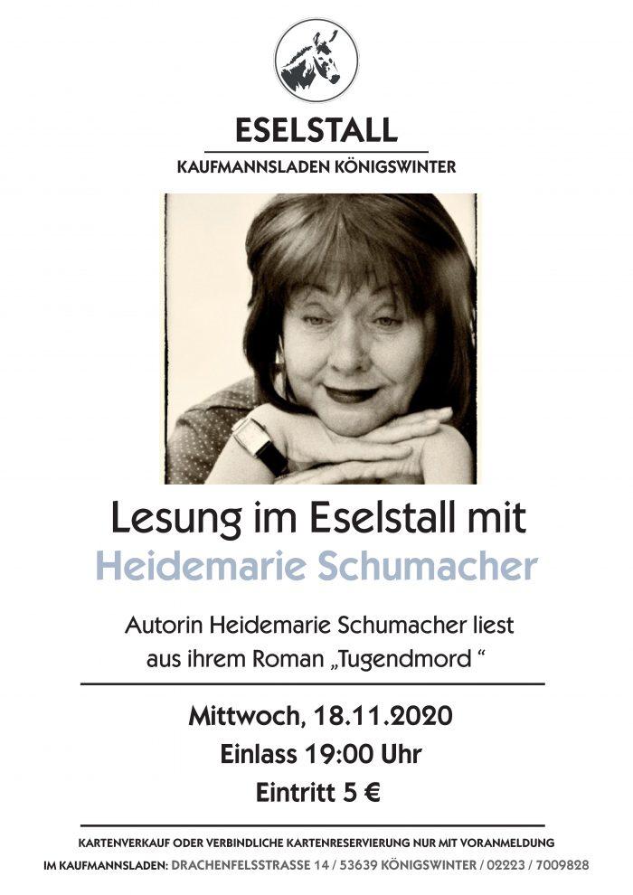 Heidemarie Schumacher - Tugendmord