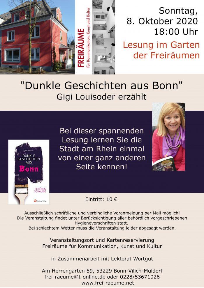 Gigi Louisoder - Dunkle Geschichten aus Bonn